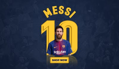 Barcelona MESSI Shop Now